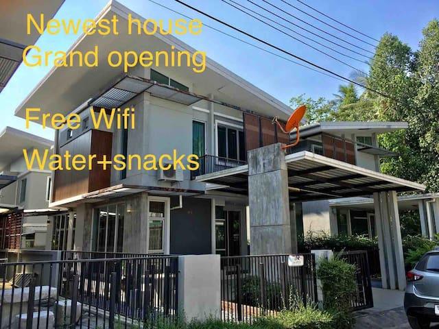 Newest 2 BR Harmony house near Central Festival