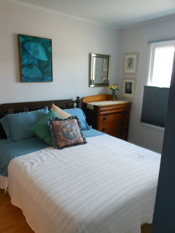 One room in Condo and steps to the beach!