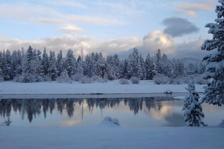 Riverfront on Deschutes River/Winter Sports Escape - Sunriver - Apartmen