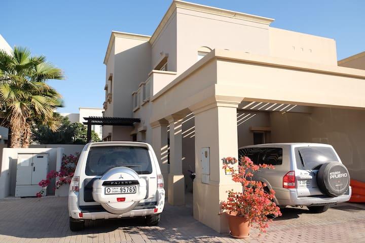 Lovely 2 bedroom villa in Dubai - Dubai - Huis