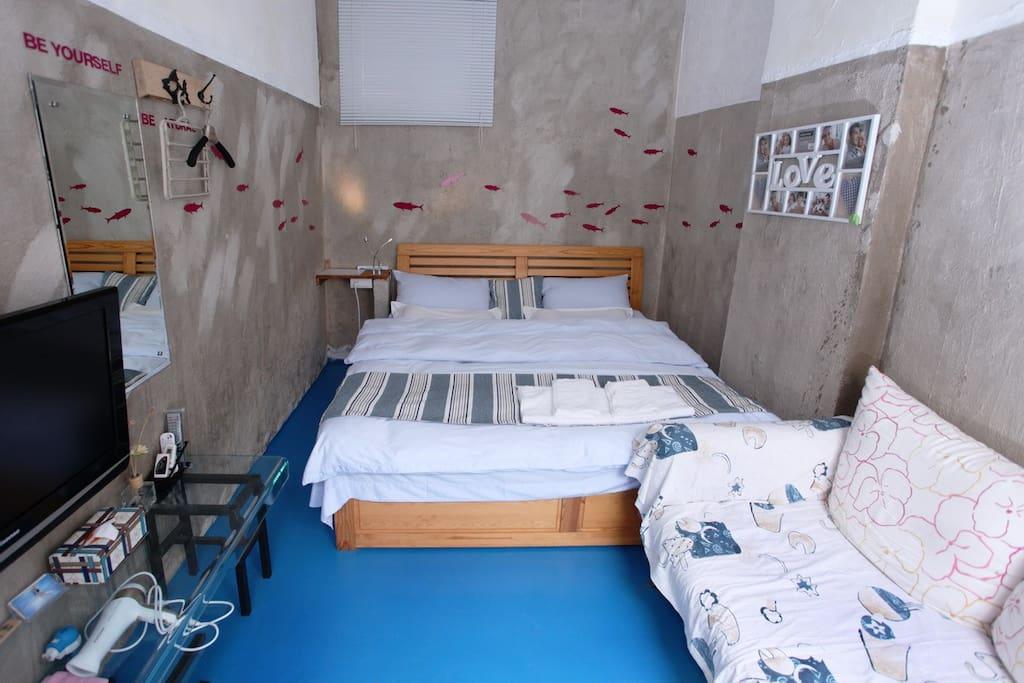 1米8 X 2米的大床