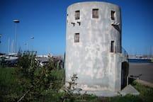 la Torre  spagnola in miniatura - Porto Corallo