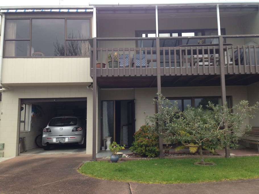 Off street parkingFront of house