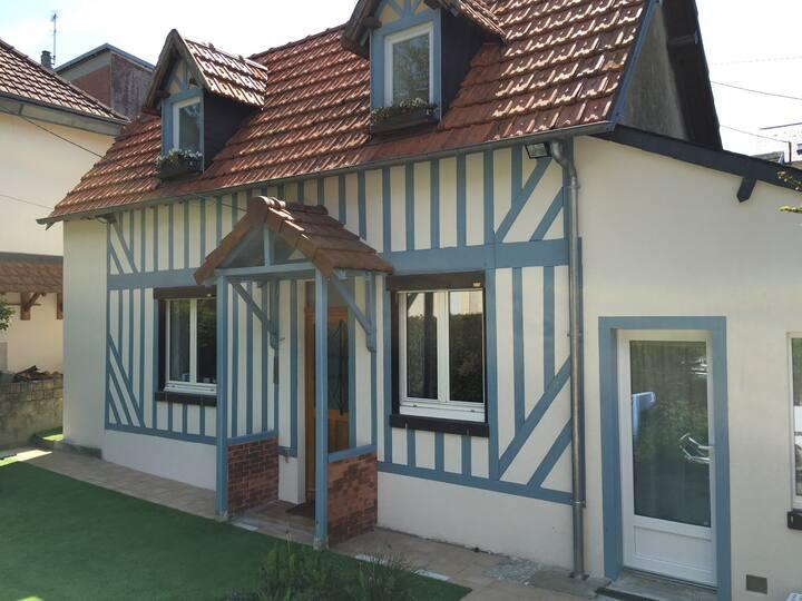 Maison familiale Trouville, terrain
