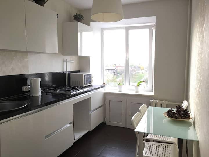 Уютная 1-к квартира в центре города