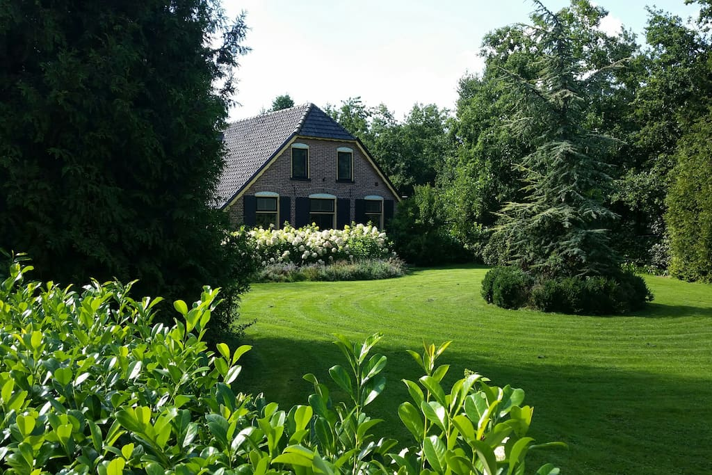 Prachtige veluwse woonboerderij villa hoge veluwe villa for Woonboerderij te koop veluwe