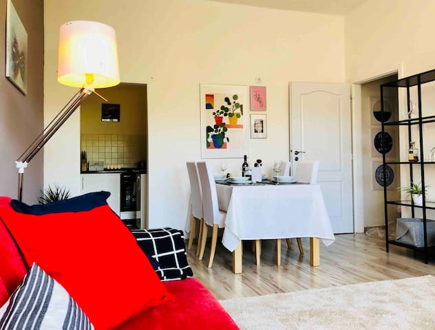 Cozy and Lively Apartment near City Center