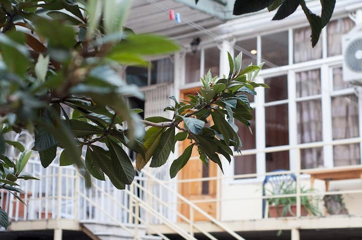 Serenity and cosiness: three central rooms+veranda