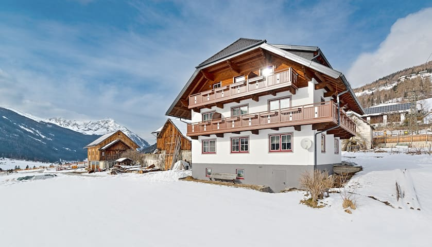 40 m² Wohnung mit Balkon, tolle Aussicht auf Berge - Weißpriach