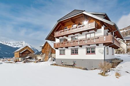 40 m² Wohnung mit Balkon, tolle Aussicht auf Berge - Weißpriach - Leilighet