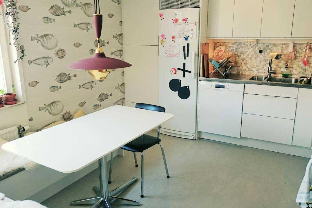 Kitchen, washing machine
