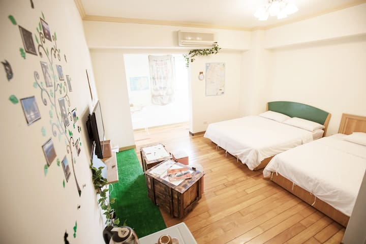 【Elevator】2~3 person room, 2 days stay, discount