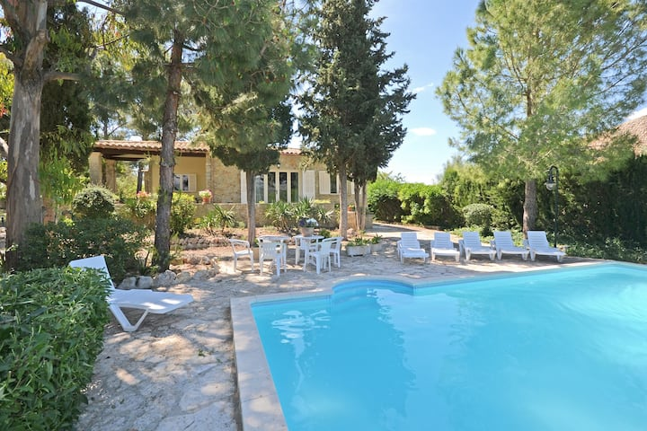 RUSTIC, Country house with swimming pool in Mancor de la Vall