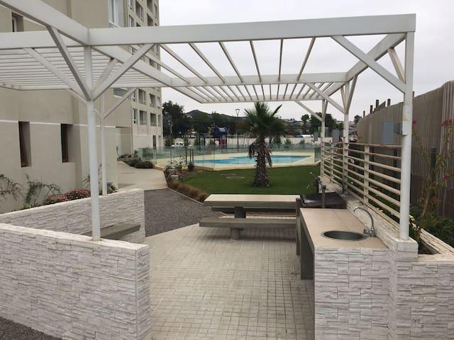 Departamento a pasos de la playa y Casino Enjoy - Elqui - Flat
