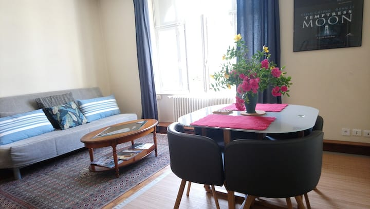 Lovely flat 5 mn on foot from historic centre