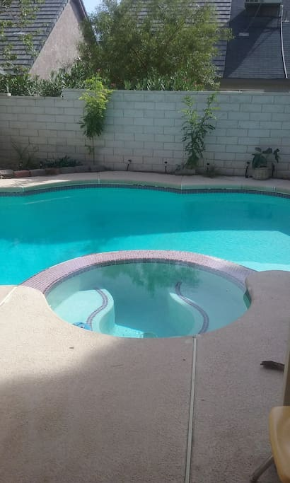 Pool open anytime summer months