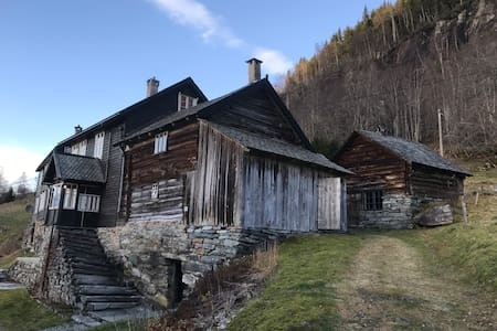 Want to live in an old rustic farmhouse?
