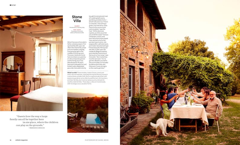 Published on AirbnMagazine October/November issue photo by Rahel Weiss, Story by Mara Santilli Copyright Airbnb