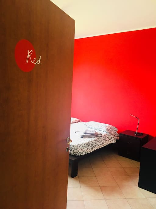 Red suite room