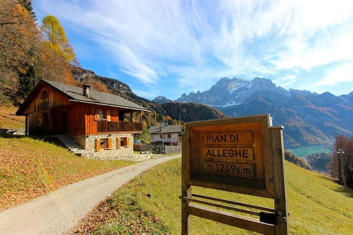 Tabià nel cuore delle Dolomiti - Alleghe - กระท่อม