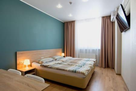 Апартаменты с 2 спальнями. Вид на Кремль, 15-20 эт - Kazan
