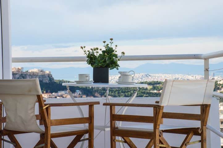 Acropolis view penthouse apartment