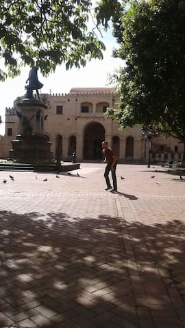 Parque Colon, Catedral.