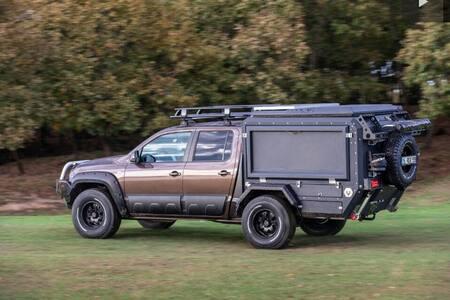 4×4 camper truck for off road adventures -ADANA