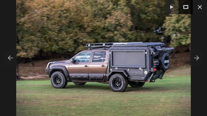 4×4 camper truck for off road adventures -ADANA