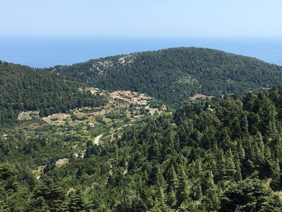 Village of Glyfada, Evia - Γλυφάδα Ευβοίας
