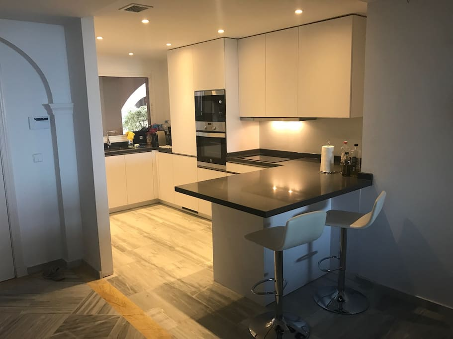 Newly renovated kitchen from June 2017