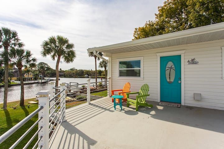 The Keys bungalow on the Cotee River.
