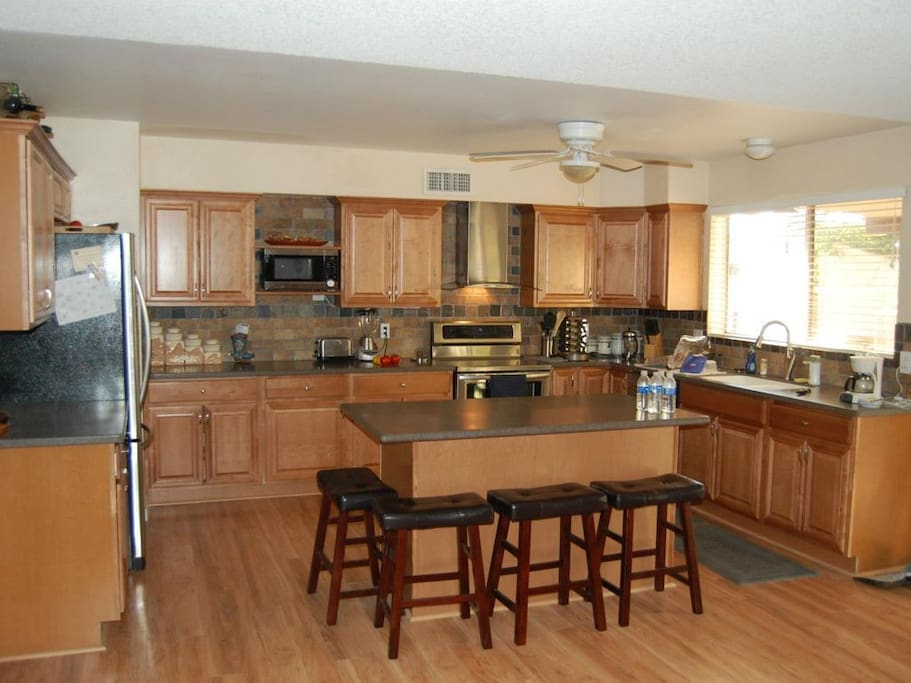 Very large kitchen, fully equipped