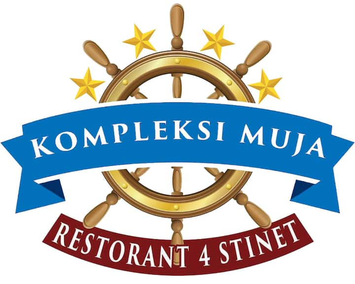 Sea view hotel room in Kompleksi Muja.