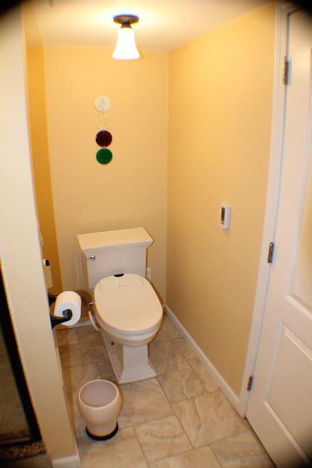 Toilet w/bidet