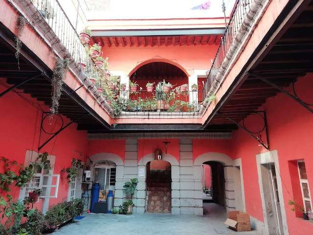 Место в историческом центре города. из Мексики