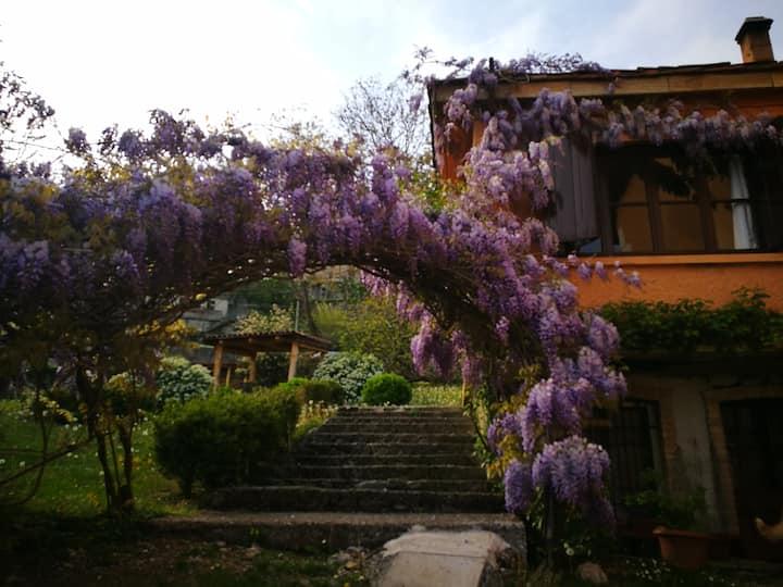 Villetta con parco