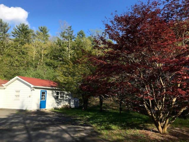 Catskills tucked Away Artist's Guest House & sauna