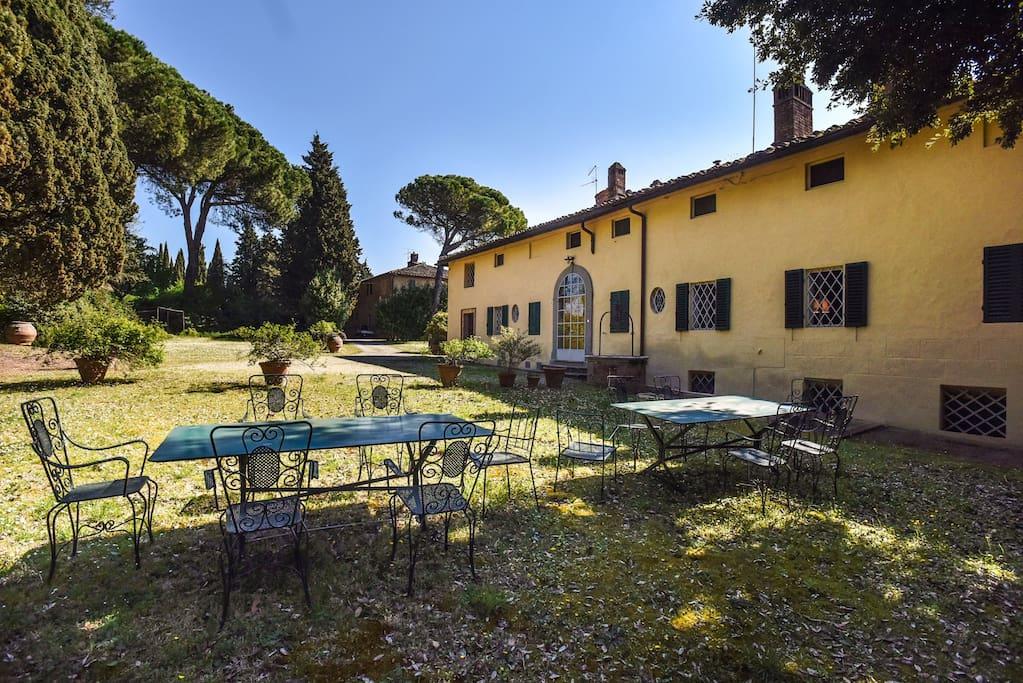 villa san dalmazio - external