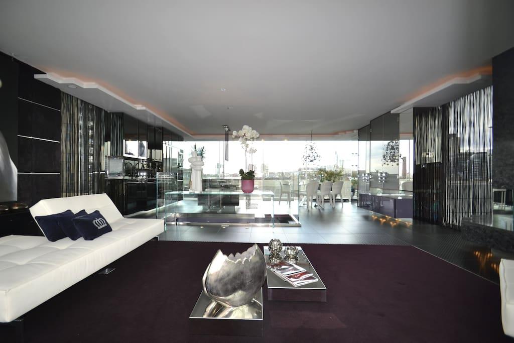 Breathtaking penthouse in shoreditch appartements - Penthouse paddington londres en angleterre ...