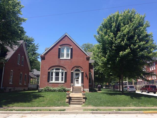 Historic home blocks from Main Street