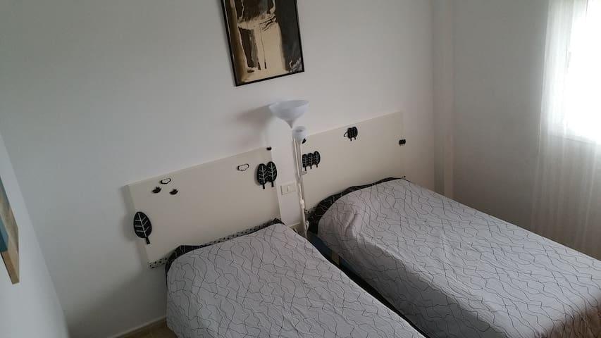 Comfortable room, very bright, with good views. - San Cristóbal de La Laguna - Appartement