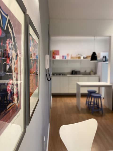 Lindo e moderno apartamento no coração de Pelotas