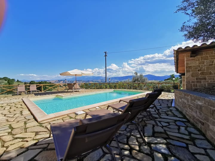 Villa alla Torre, with private pool