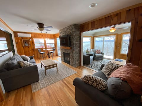 Newly Renovated cabin/Lake Pepin, panoramic views