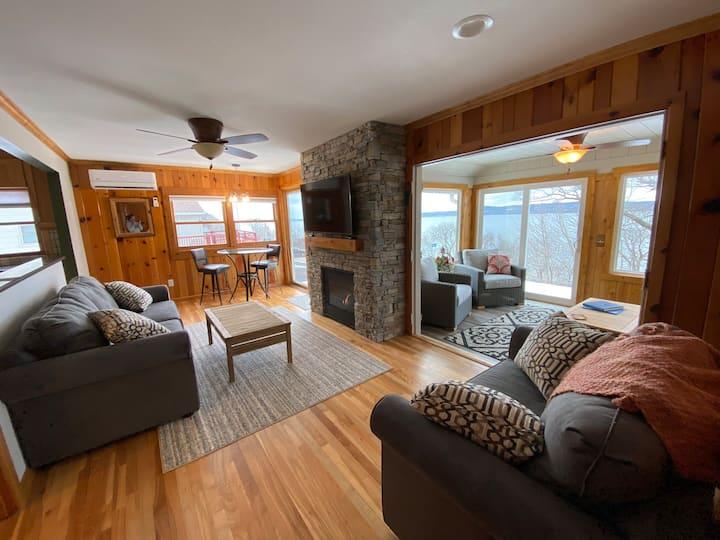 Newly Renovated cabin/Lake Pepin, panoramic views