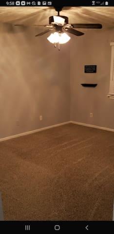 #4 bedroom has 3 floor mattresses, and 2 air mattresses