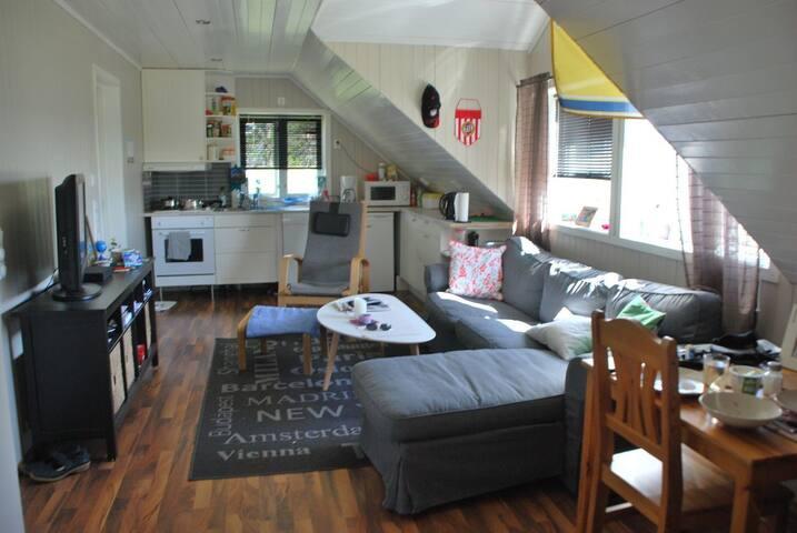 Koselig leilighet sentralt på Hamarøy