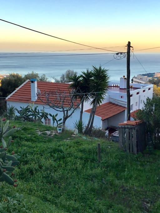 Vista exterior da casa