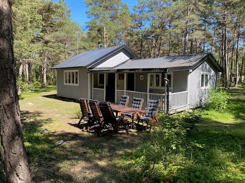 Large cottage close to the sea, 2 miles from Visby.
